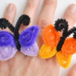 How to Make Pipe Cleaner Butterfly Rings