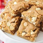 Cookie Butter Blondies
