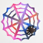 How to Make Coffee Filter Spiderwebs