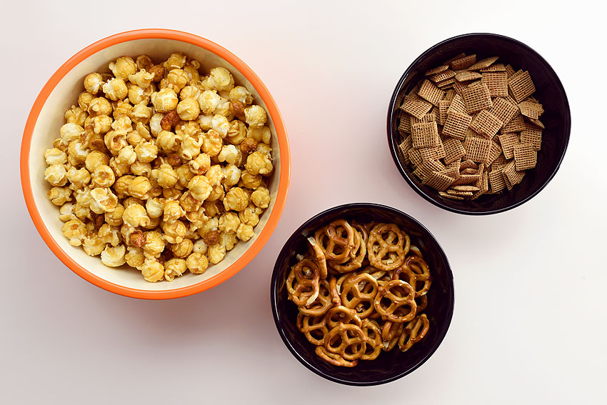 Scarecrow Crunch Snack Mix