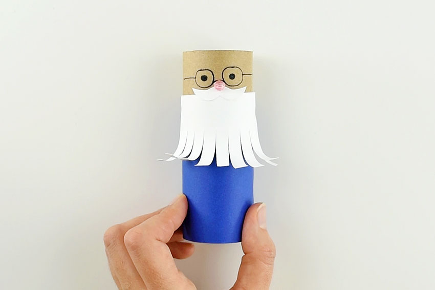 How to make a Paper Roll Wizard