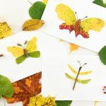 Autumn Leaf Butterflies and Dragonflies | Autumn Nature Craft