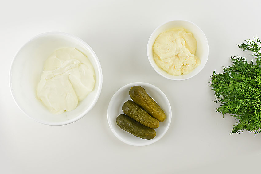 Dill Pickle Dip Ingredients