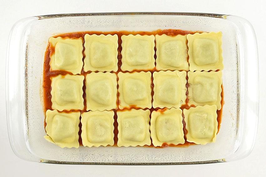Lazy Lasagna with Baked Ravioli | Easy Ravioli Lasagna Recipe