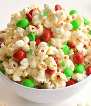 Santa Crunch: Christmas Popcorn Recipe
