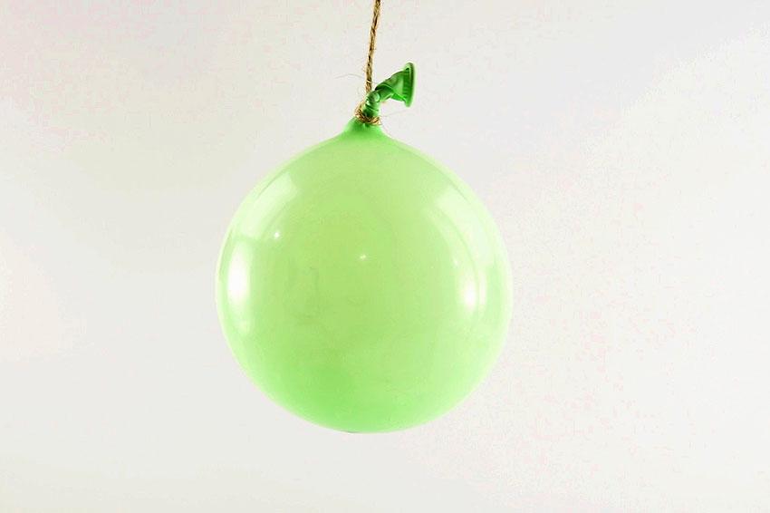 DIY Twine Ball Ornaments