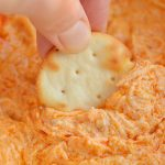 Crockpot Buffalo Chicken Dip