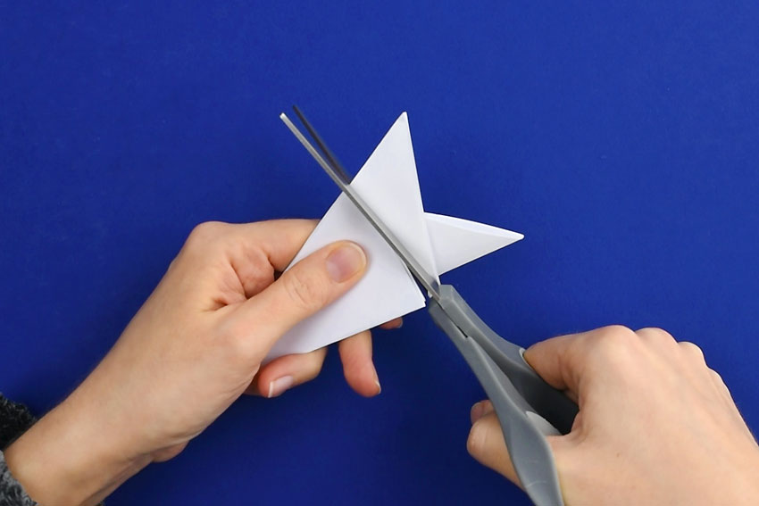 Paper Snowflakes - Step 5a
