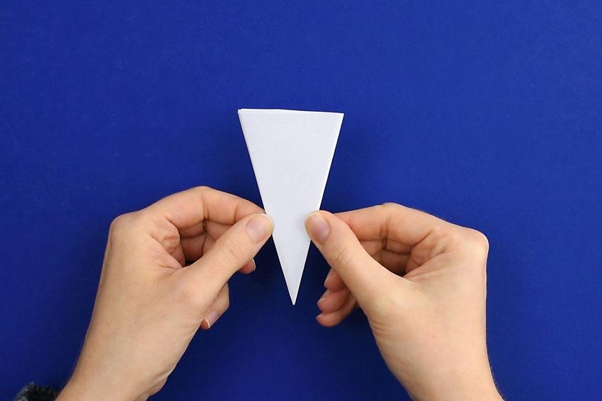 Paper Snowflakes - Step 5b