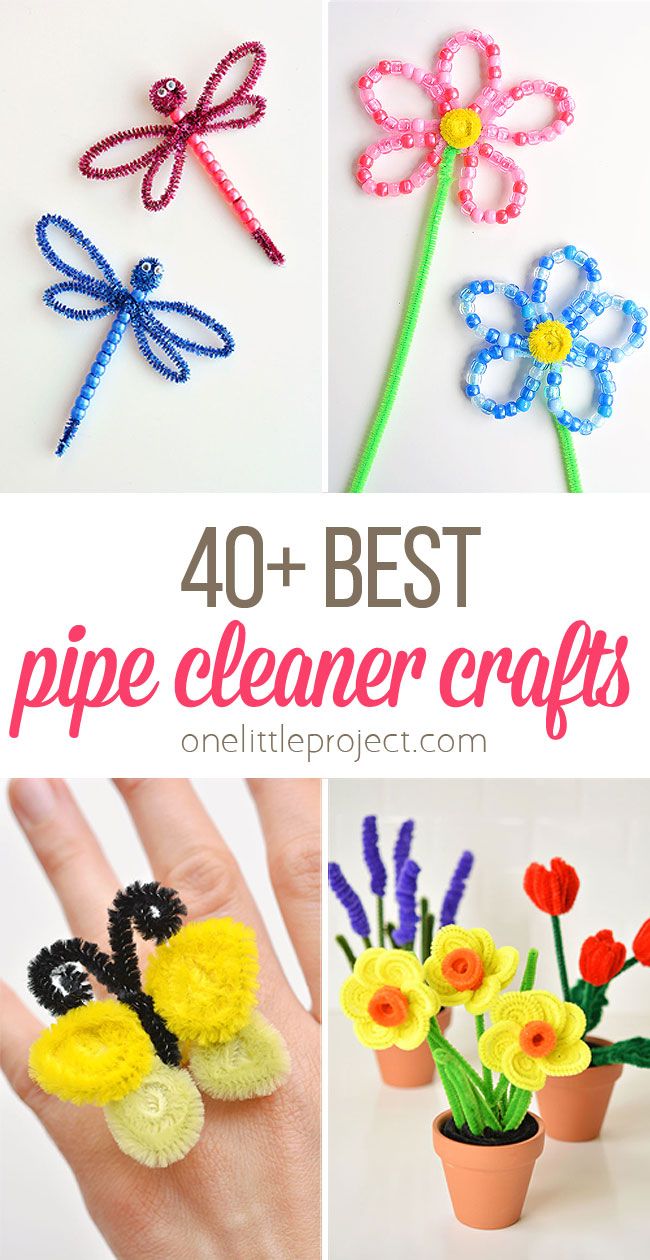 40+ Best Pipe Cleaner Crafts