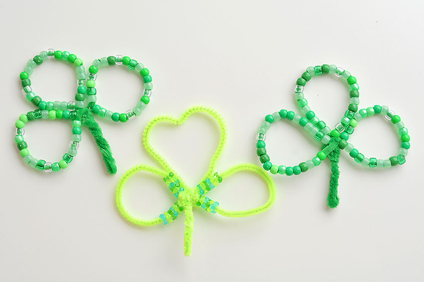 shamrock pony bead patterns