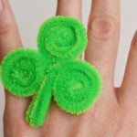 Shamrock Rings: St. Patrick's Day Craft Two Different Ways!