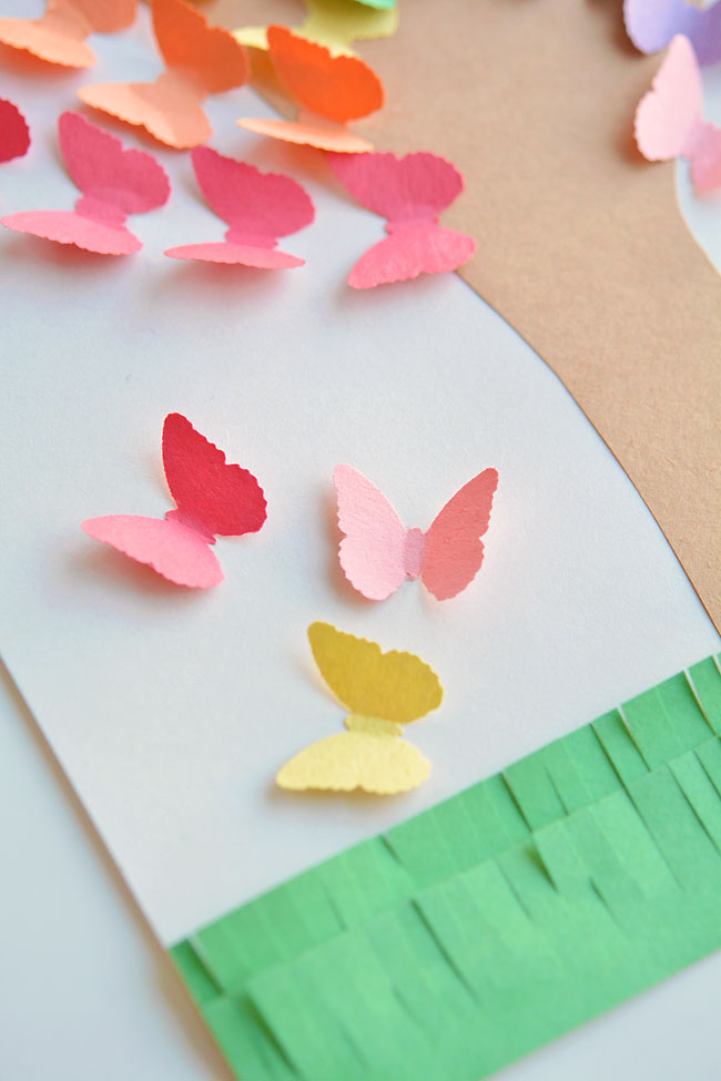 paper craft butterfly