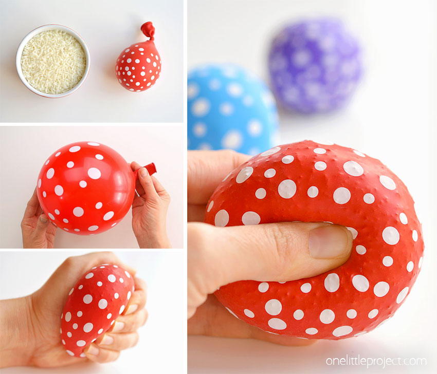 How to Make Stress Balls with Balloons and Rice