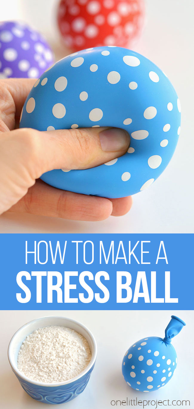 how to make a stress ball with a balloon