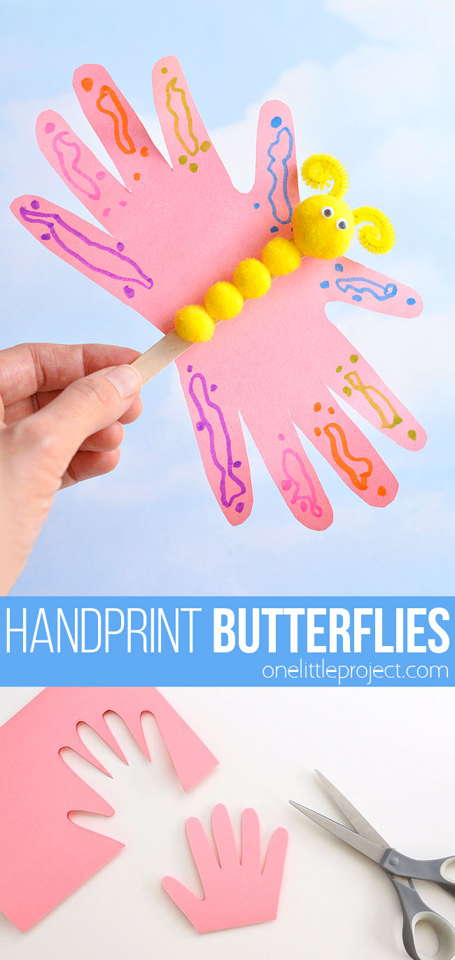 Handprint Butterflies
