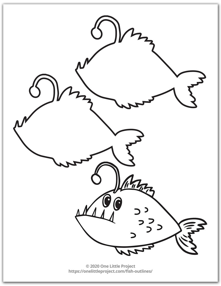 Fish Outline 5