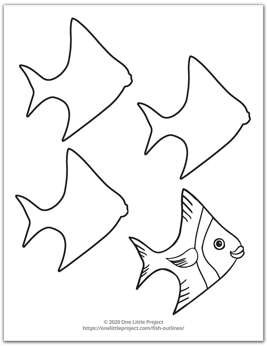 Fish Outline 2