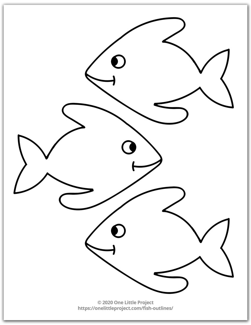 Fish Outline 4