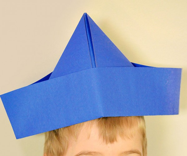 Hat Made Out of Paper