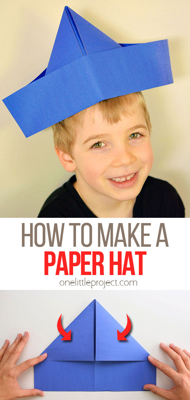 How to Fold a Paper Hat