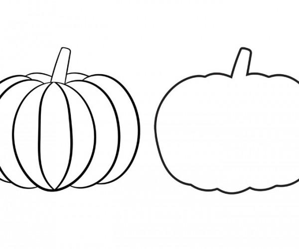 Printable Pumpkin Template