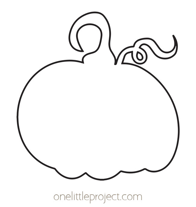 Pumpkin Outline 2
