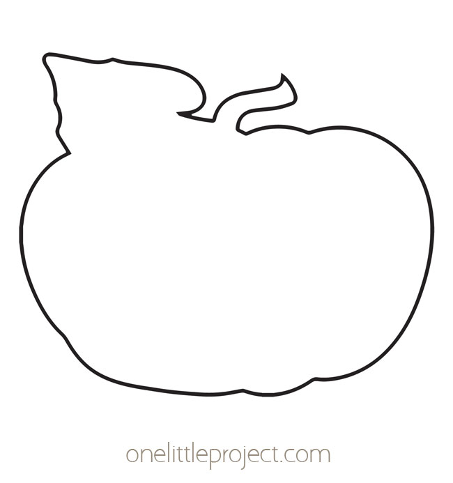 Pumpkin Outline 3