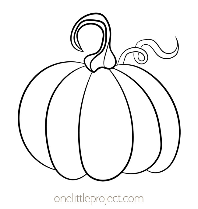 Pumpkin Template 2