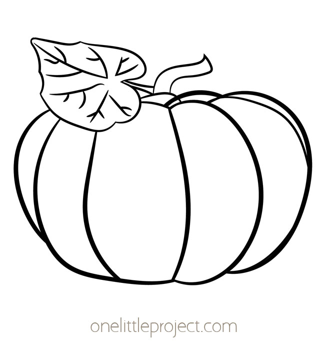 Pumpkin Template 3