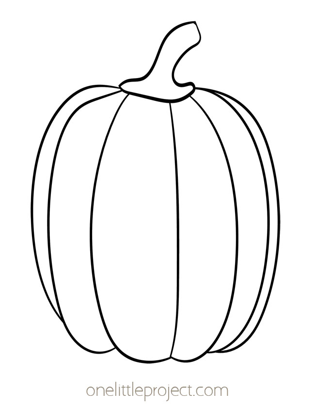 Pumpkin Template 4