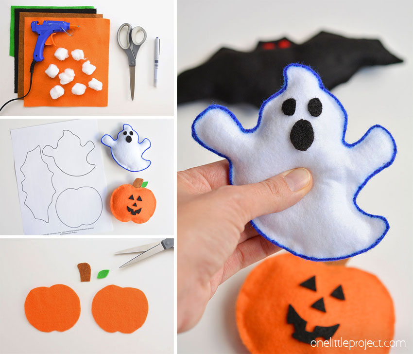 How to Make Halloween Plushies