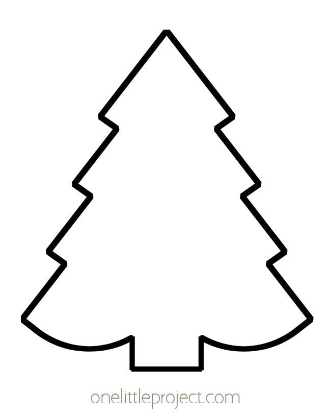 Christmas Tree Outline 2