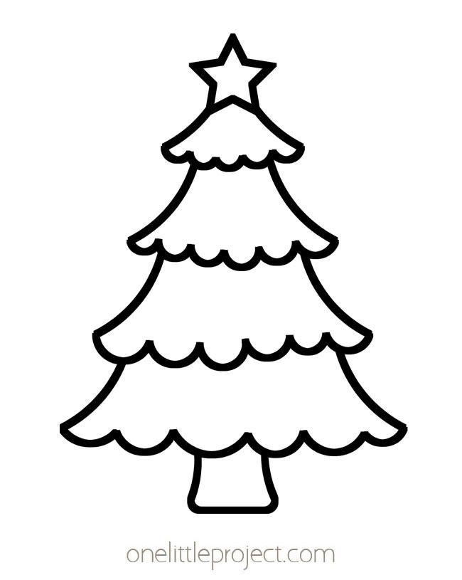 Christmas Tree Shape 2