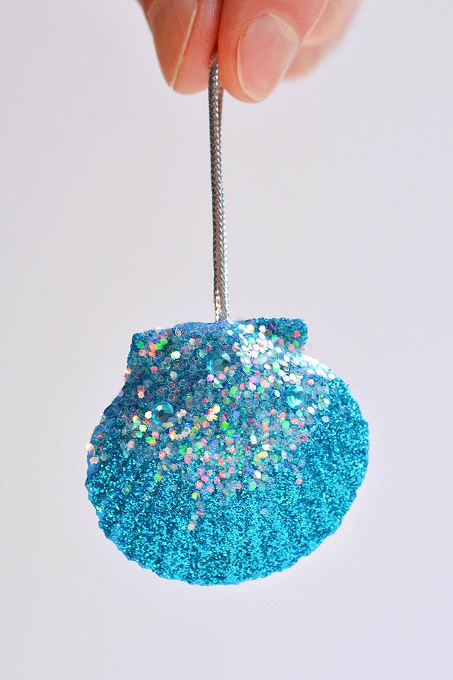 Handmade Seashell Ornaments