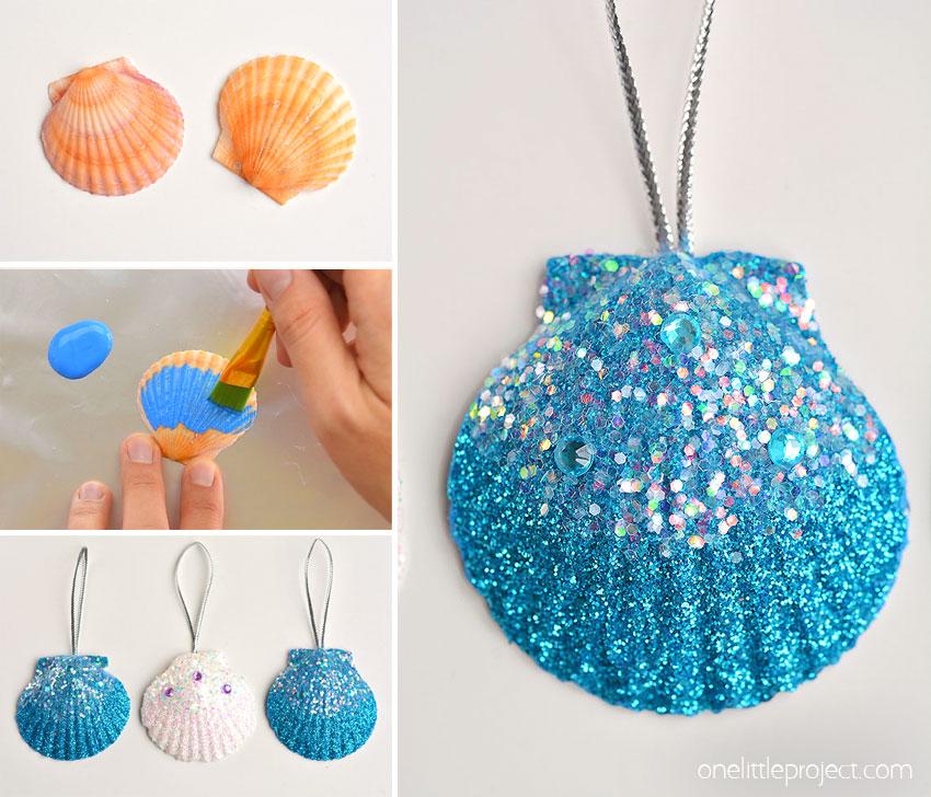 How to Make Seashell Ornaments