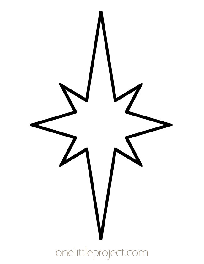 Star Shape - Shining Starburst