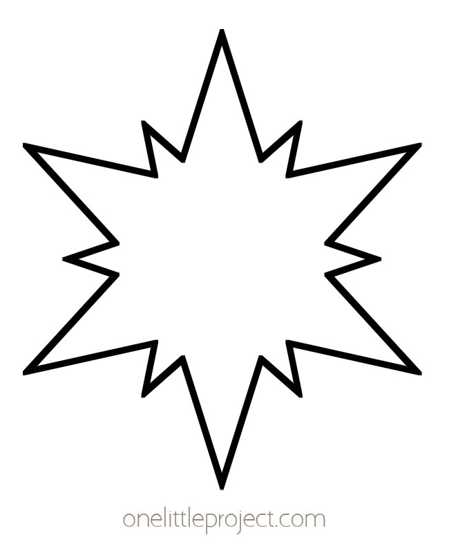 Star Shape - POW Starburst